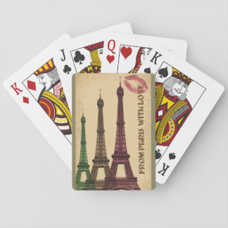 From Paris With Love Playing Cards