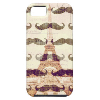 From Paris with mustache iPhone 5 Cover