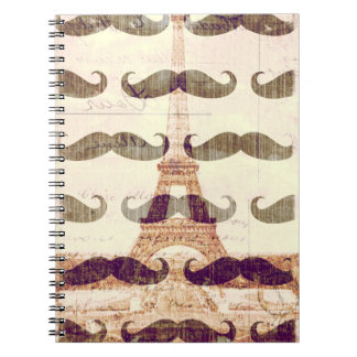 From Paris with mustache Notebooks