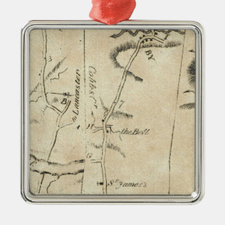 From Philadelphia to Annapolis Maryland 51 Christmas Ornament