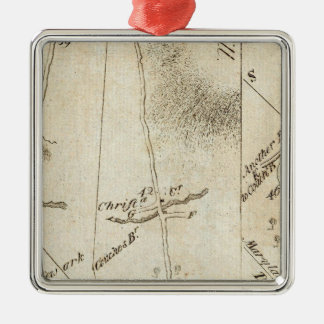 From Philadelphia to Annapolis Maryland 54 Christmas Ornament