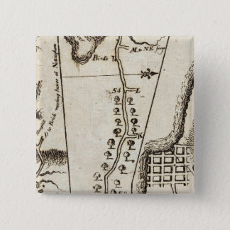 From Philadelphia to Annapolis Maryld 55 15 Cm Square Badge