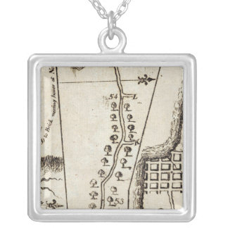 From Philadelphia to Annapolis Maryld 55 Silver Plated Necklace