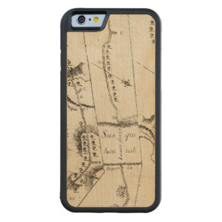 From Philadelphia to Annapolis Md 56 Carved Maple iPhone 6 Bumper Case