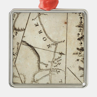 From Philadelphia to Annapolis Md 59 Christmas Ornament