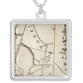 From Philadelphia to Annapolis Md 59 Silver Plated Necklace