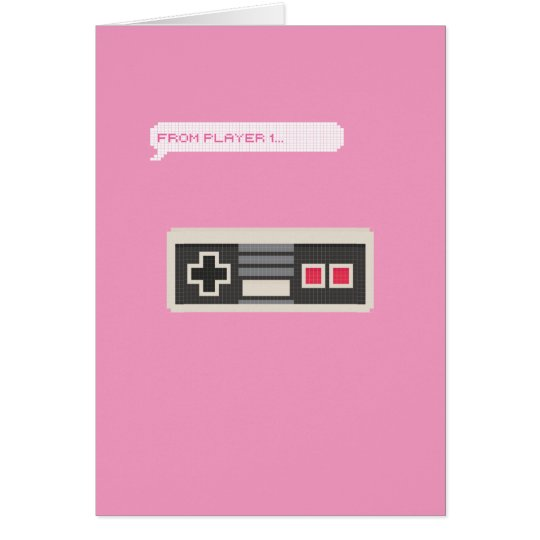 From Player 1 to Player 2 Gamer Valentine's