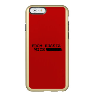 from russia with------- incipio feather® shine iPhone 6 case
