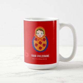 From Russia with Love Girl Adoption Gift Coffee Mug