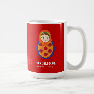 From Russia with Love Girl Adoption Gift Mugs