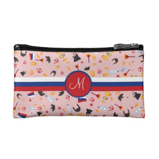 From Russia With Love- Russian Monogram Cosmetic Bags