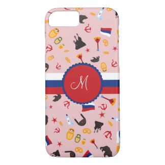 From Russia With Love- Russian Monogram iPhone 8/7 Case