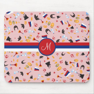 From Russia With Love- Russian Monogram Mouse Pad