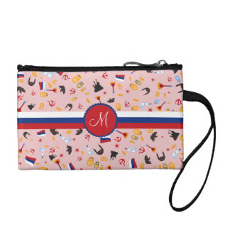 From Russia With Love- Russian pattern Change Purses