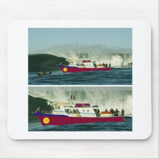 From SEA Shore during HIGH TIDE Mouse Pad