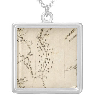 From Stratford to Poughkeepsie 17 Silver Plated Necklace