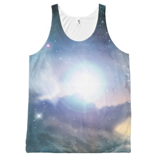 From the ashes of the first stars All-Over print tank top
