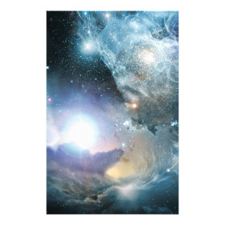 From the ashes of the first stars personalized stationery