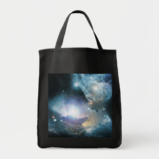 From the Ashes of the First Stars Grocery Tote Bag