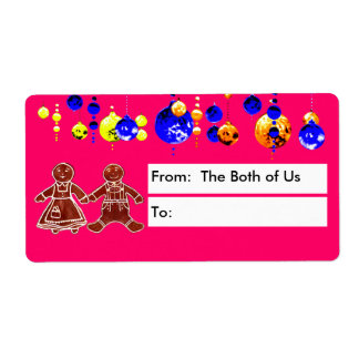From The Both of Us Shipping Label