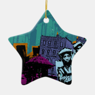 From the Bronx to Manhattan Christmas Ornament