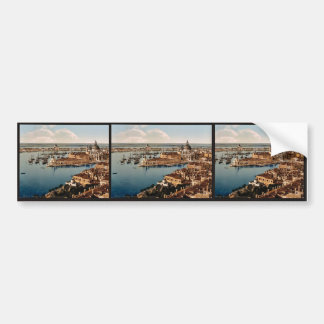 From the Campanile, I, Venice, Italy vintage Photo Bumper Sticker