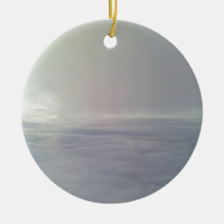 From the cloud christmas ornament