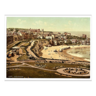 From the gardens, Broadstairs, England vintage Pho Postcard