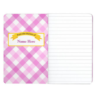 From the Kitchen of Food Label - Pink Journal