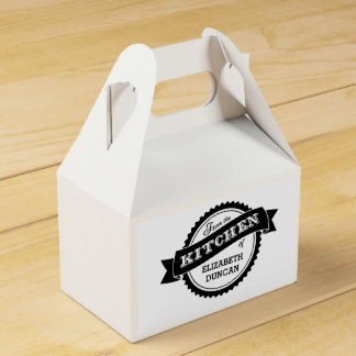 From The Kitchen Of Personalized Favor Box