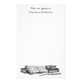 From the Library of Old Books Custom Stationery