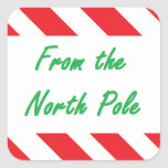 """From the North Pole"" Sticker"