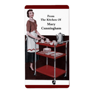 From the Retro Kitchen Of You! Personalized