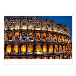 From the Roman Colosseum with Love Postcard