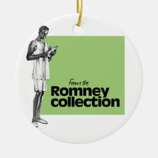 FROM THE ROMNEY COLLECTION -.png Round Ceramic Decoration