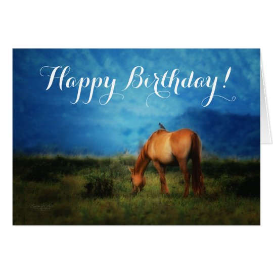 from the Stable Crowd (group) Horse Birthday Card