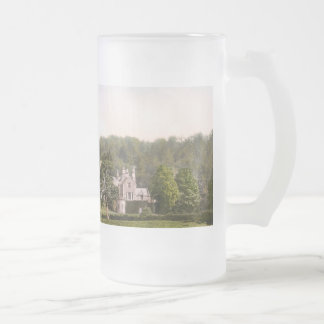 From the Tweed, Abbotsford, Scotland Frosted Glass Mug