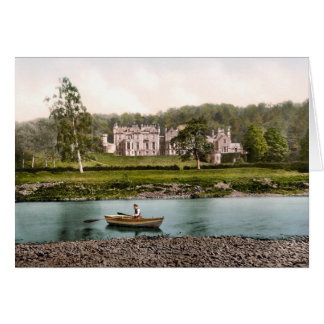 From the Tweed, Abbotsford, Scotland Greeting Card