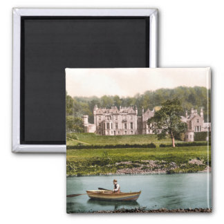 From the Tweed, Abbotsford, Scotland Square Magnet