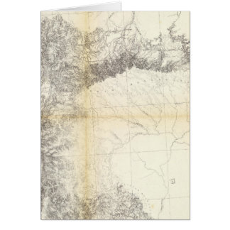 From the Valley of Green River to Great Salt Lake Greeting Card