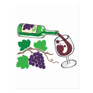 FROM VINE TO WINE POST CARDS