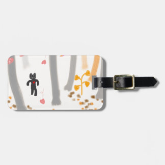"From ""water caltrop rice field spring the omajiyu luggage tag"