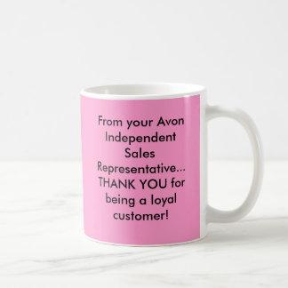 From your Avon Independent Sales Representative... Basic White Mug