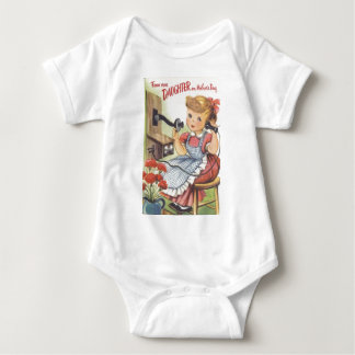 From Your Daughter on Mothers Day Baby Bodysuit