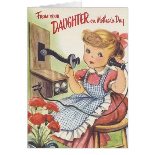 From Your Daughter on Mothers Day Card