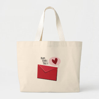 From Yours Truly Jumbo Tote Bag
