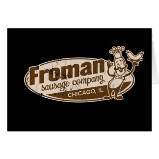 Froman Sausage co chicago illinois Cards