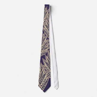 Fronds - Blue Tie