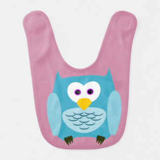 Front and back owl bib