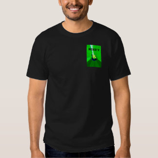 Front and Back Roofy Green logo and 3D logo Tshirt
